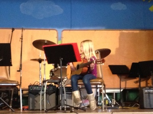 First Guitar Recital